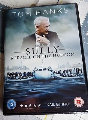 DVD SULLY - Miracle on the Hudson Tom Hanks - NEW Unopened