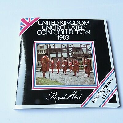 Royal Mint United Kingdom Brilliant Uncirculated Coin Collection 1983