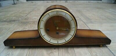 HERMLE Modernist Westminster chime mantel clock SEE VIDEO