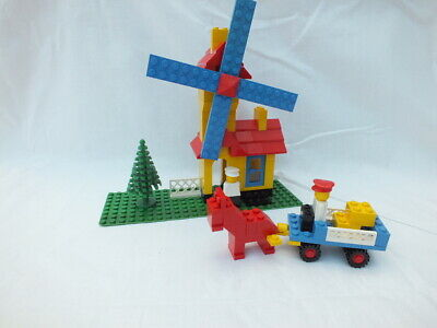 LEGO - VINTAGE Windmill with Building instructions