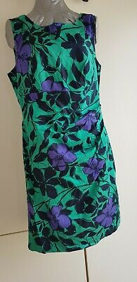 2fa902f204e OASIS FLORAL PRINT Shift Dress Size 12 Summer Occasion Holiday ...