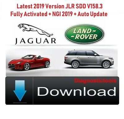 latest , JLR SDD v156.01 + activation + NGI 2019 + auto update/Jaguar Land Rover