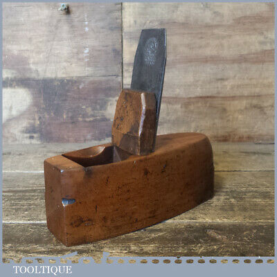 Vintage Beechwood Toothing Plane - Good Condition