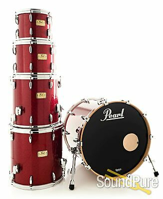 Pearl 5pc Masters Studio BCX Birch Drum Set-Red Glass - Used