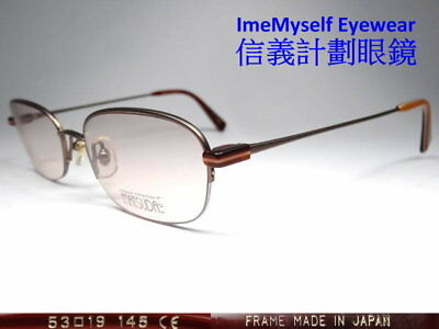 [ ImeMyself Eyewear ] Matsuda 14124 Half Rim Vintage Optical Prescription Frames