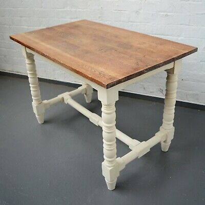 4 Seater French Refectory Style Painted Shabby Chic Rustic Farmhouse Table