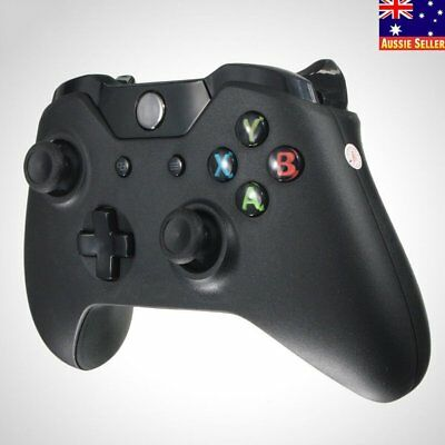 New Black 2.4GHz Wireless Game Controller Joypad for Xbox One Microsoft PC BA