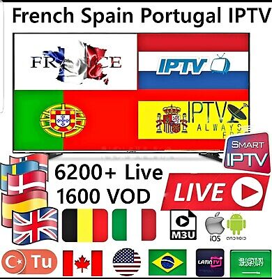 Abonnement IPTV 12 Full HD international  de 16200 canaux et plus ADULTE