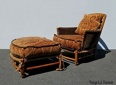 Fabulous Antique Vintage Green Velvet Swivel Chair And Ottoman Evergreenethics Interior Chair Design Evergreenethicsorg
