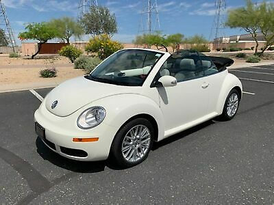 2007 Volkswagen New Beetle Triple White 2007 White Triple White VW Beetle 2006 2008 2009 2010 2011 2012 2013 2014