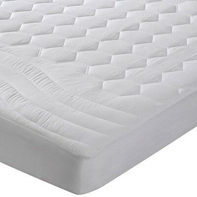Mattress Pad Queen Size Hypoallergenic Antibacterial Breathable Ultra Soft Sheet