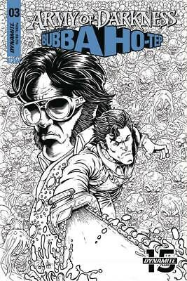 ARMY OF DARKNESS BUBBA HOTEP #3 1:20 Robert Hack Virgin VARIANT COVER EB12