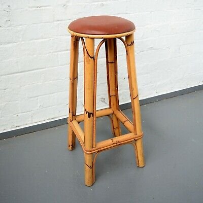 Unusual Decorative Bamboo Bar Stool / Bamboo Furniture