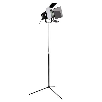 Modern Movie Style Spotlight Black Floor Lamp - Living Room Office Free Standing