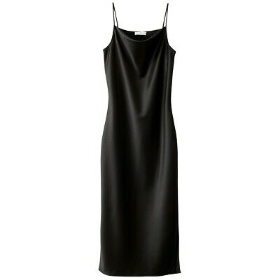 La Redoute Collections Womens Satin Look Cowl Neck Dress