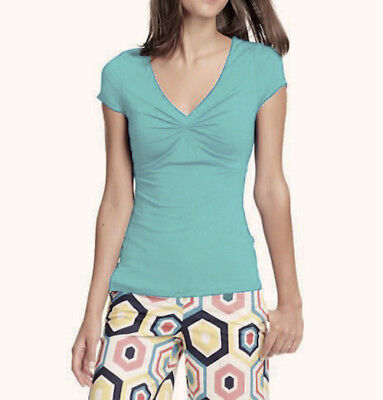 90a494680d9 ... 10 Cora Top Short Sleeve Jersey Rouched Kelly Green WL862.