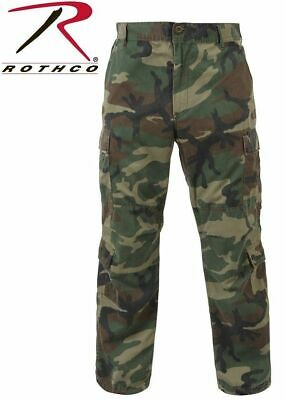 2fe238154b Rothco 2586 Men's Vintage Paratrooper Fatigues - Military Style Camo Cargo  Pants
