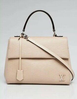 21748feeded6 AUTHENTIC LOUIS VUITTON Epi Cluny MM Dune Shoulder Leather Bag ...