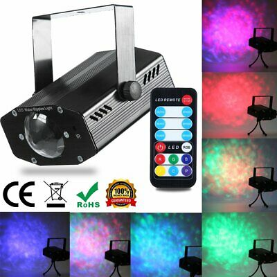 Stage Lighting Laser Projector Strobe LED R&G Party KTV Disco DJ Light Remote AU