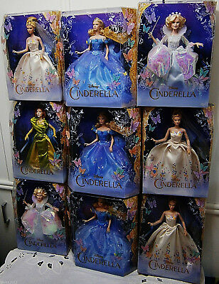 Barbie Mattel Disney Collector Doll Cinderella Wedding Royal Ball Tremaine a.Lot