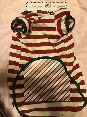 """SHIRT 3T North Pole Trading """"Santa Paws Is Coming To Town"""" XMAS GIRL //BOY T"""