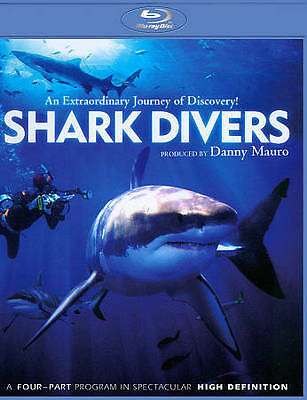 SHARK DIVERS THE SPECTACULAR FOUR PART PROGRAM New Sealed Blu-ray