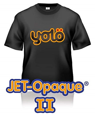 100 x A4 Sheets of Jet-Opaque® II Inkjet Heat Transfer Paper / T-Shirt Transfers