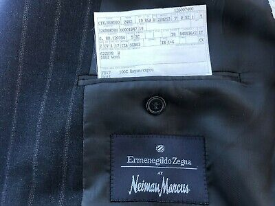 ERMENEGILDO ZEGNA ITALY for NEIMAN MARCUS FABULOUS MEN'S WOOL JACKET BLAZER 42