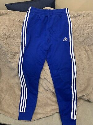 BOYS ADIDAS 3 Stripes Track Pants Sweatpants Youth Small