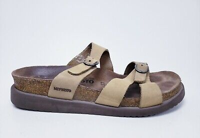 f8b7980bf794 Mephisto Air Relax Mobils Leather Sandals Womens Shoe Size. 37 7 MADE IN  FRANCE