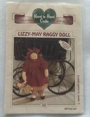Lizzy-May Raggy Doll Pattern