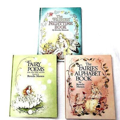 Fairies by Beverlie Manson, Set of 3 Hardcovers All First 1st Editions.