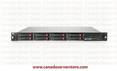 DL360 g6 Two X5570 QC 72gb RAM and 4 x 450gb sas DVD RAILS
