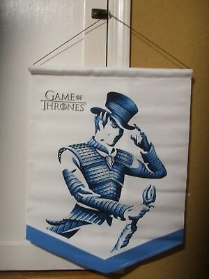 Johnnie Walker White Game Of Thrones Hanging Banner Sign Man Cave Whiskey Pole