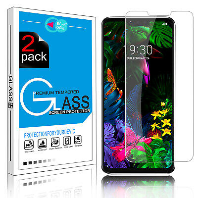 For LG G8 ThinQ Premium Real Tempered Glass Protective Screen Protector Film 9H