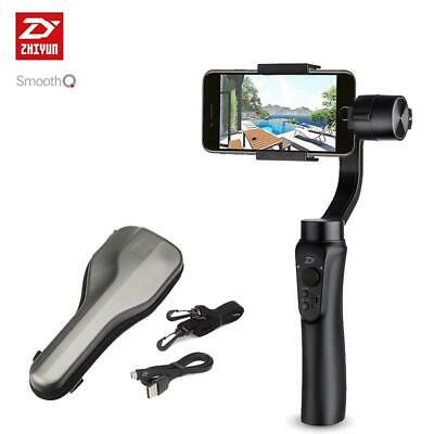 Brand new Zhiyun Smooth-Q 3-Axis Handheld Gimbal Stabilizer for Smartphone black