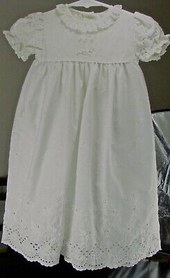 Vintage Christening Gown w/Bonnet and shoes