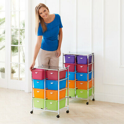 SECONDS Crafter's Storage Trolley 4 tier