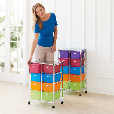 SECONDS Crafter's Storage Trolley 5 Tier