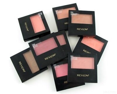 Revlon Powder Blush With Brush Factory Sealed - Choose Your Color