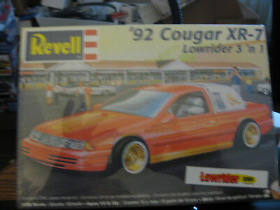 Revell 1992 Couger XR-7 LOWRIDER 3in1 kit skill level 2 factorysealed 1/25 scale