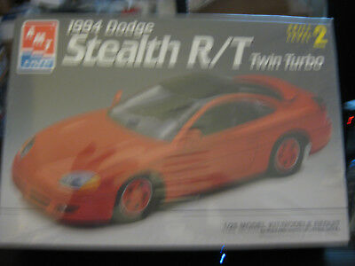 AMT 1994 Dodge Stealth R/T twin turbo skill level 2 factory sealed  1/25 scale