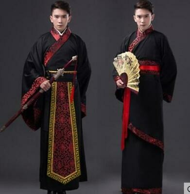 @Chinese Men/'s Han Clothing Emperor Cos Prince Show Cosplay Suit Ancient Costume