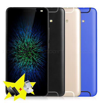 "Android 7.0 Unlocked 6.0"" Mobile Smartphone Quad Core 2SIM 3G/GSM Cell Phones"