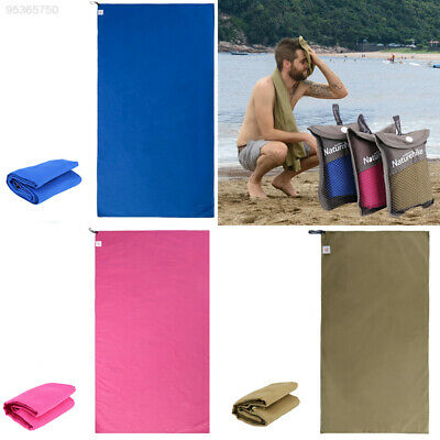 3D2C Outdoor Travel Sports Microfiber Soft Quick Drying Hand Face Towel with Bag