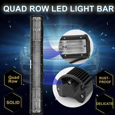 """23""""Inch LED Light Bar Triple Row Combo Beam Work Driving Offroad 4WD"""