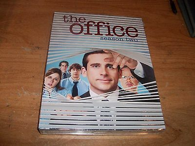 (2) The Office Season Two Three 2 3 (DVD, 2007, 4-Disc Set) Steven Carell Comedy
