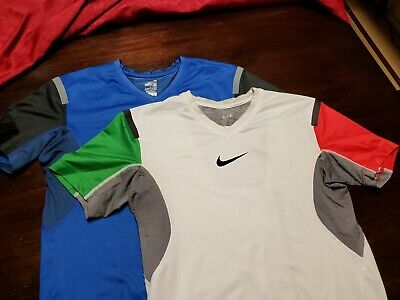 best website f8d7d 56362 2 Nike Pro Fitted Tech Compression Shirts