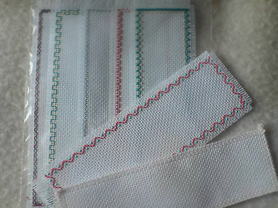 Book Markers Blanks and Edged Single or Sets cross stitch Aida for Anchor