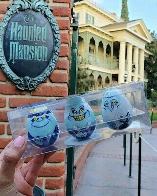 Disney Parks Disneyland WDW Haunted Mansion Hitchhiking Ghosts Easter Eggs 2019